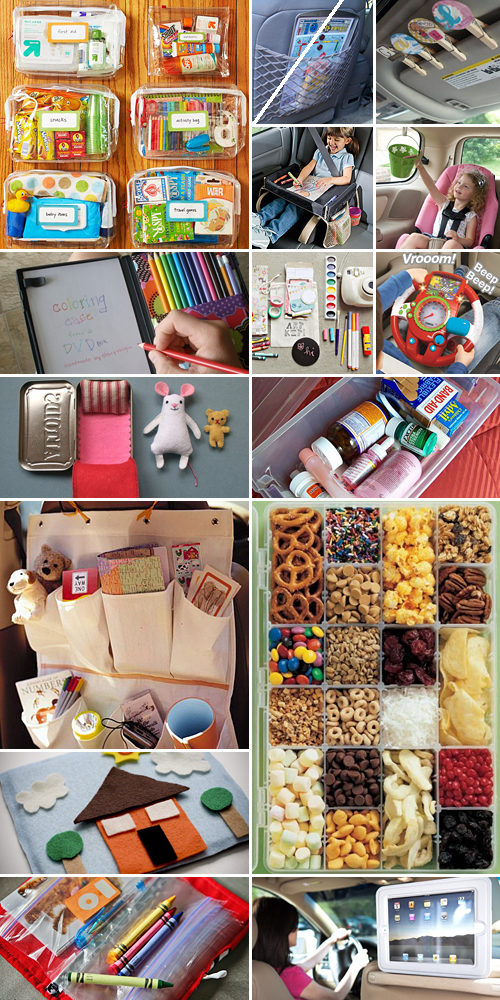 travelling with kids ideas